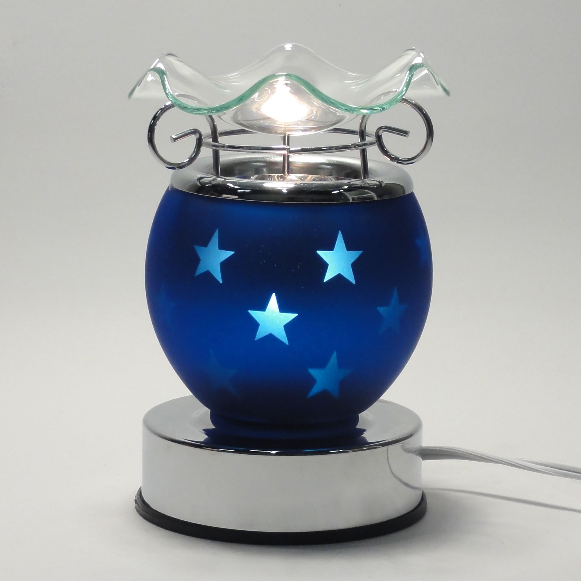 Scent Shop Night Lights: Electric Touch Lamp Fragrance Oil And Tart Wax Warmer