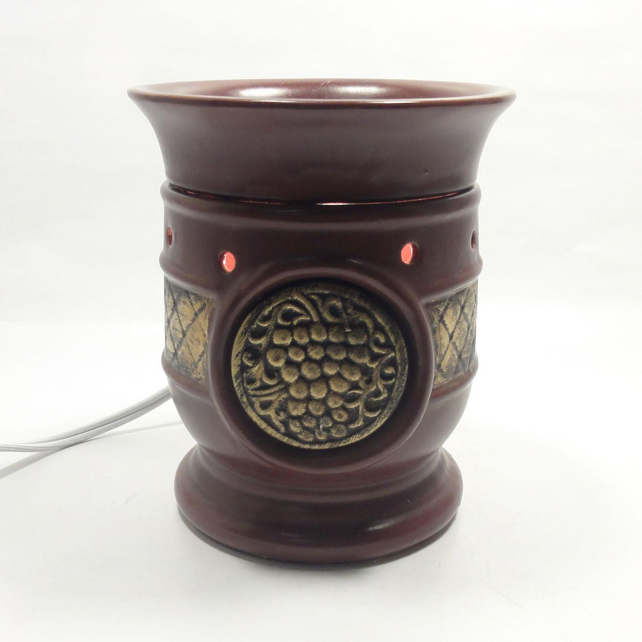 Electric Fragrance Warmers ~ Classic ceramic electric fragrance oil tart lamp warmer