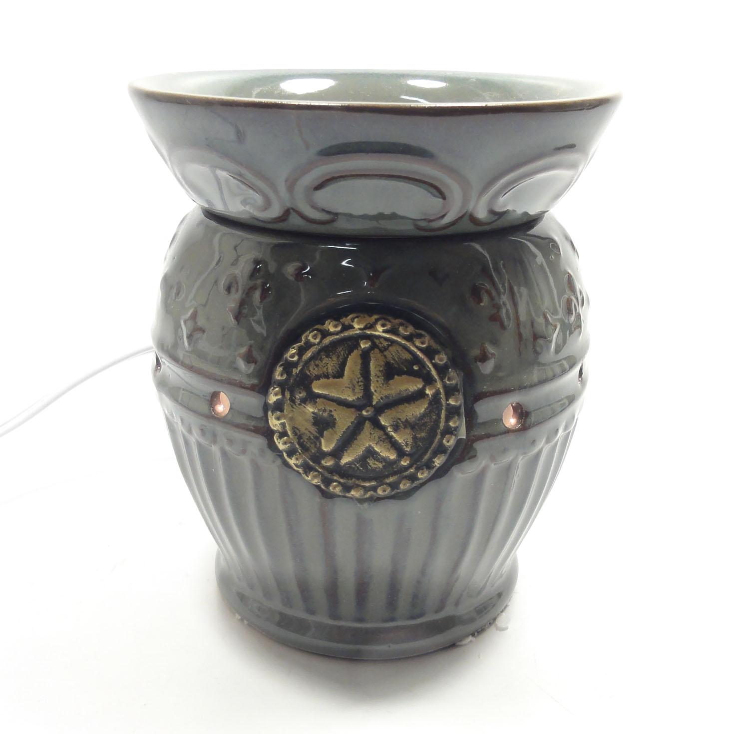 classic ceramic decorative electric fragrance oil tart lamp diffuser. Black Bedroom Furniture Sets. Home Design Ideas